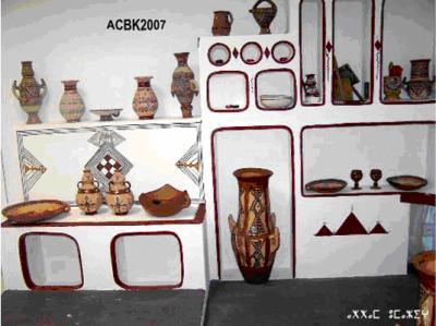 interieur maison kabyle montagnard